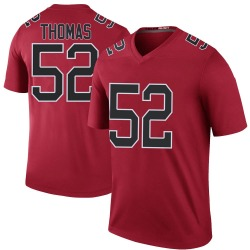 Legend Ahmad Thomas Men's Atlanta Falcons Red Color Rush Jersey - Nike